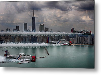 Geico Skytypers Metal Print by Jerome Lynch