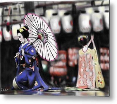 Geisha No.109 Metal Print