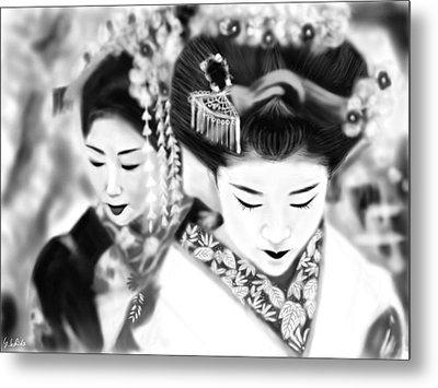 Geisha No.160 Metal Print