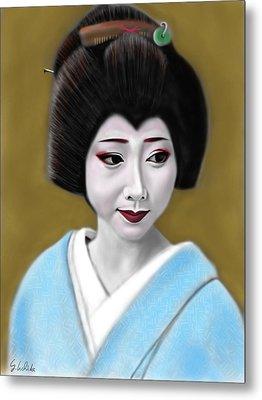 Geisha No.179 Metal Print