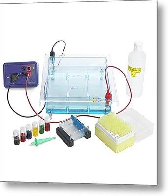 Gel Electrophoresis Equipment Metal Print