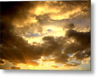 Metal Print featuring the photograph Gelato Sky by Amanda Holmes Tzafrir