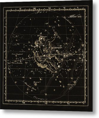 Gemini Constellation, 1829 Metal Print by Science Photo Library
