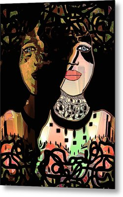 Gemini Metal Print by Natalie Holland