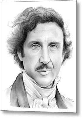 Gene Wilder Metal Print by Greg Joens