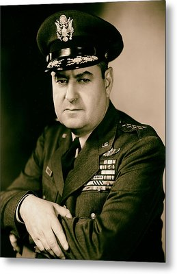 General Curtis Lemay 1950s Metal Print by Mountain Dreams