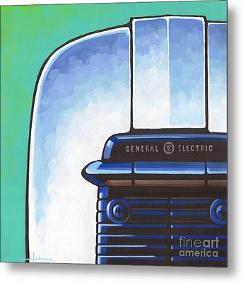 General Electric Toaster Metal Print by Larry Hunter