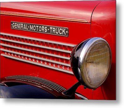 General Motors Truck Metal Print by Thomas Young