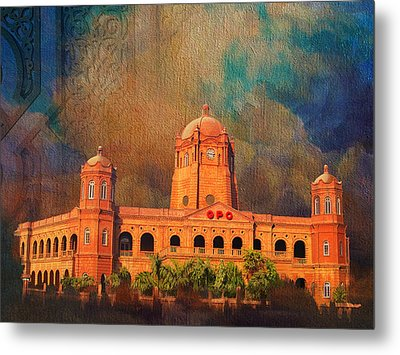 General Post Office Lahore Metal Print by Catf