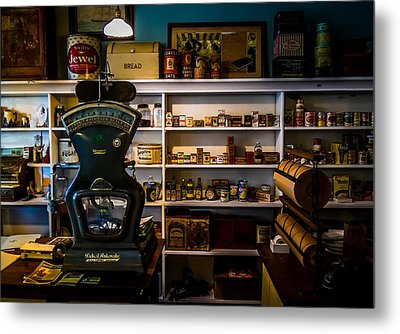 General Store Metal Print by Chuck De La Rosa