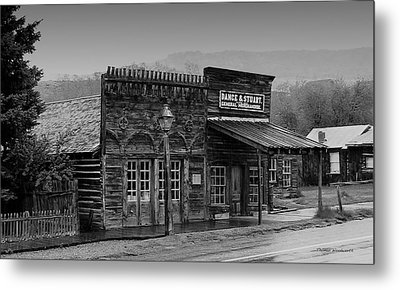 General Store Virginia City Montana Metal Print by Thomas Woolworth