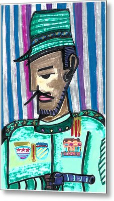 Generalissimo Diego  Metal Print by Don Koester