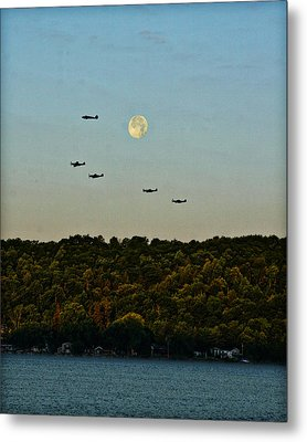 Geneseo Air Show Metal Print by Richard Engelbrecht