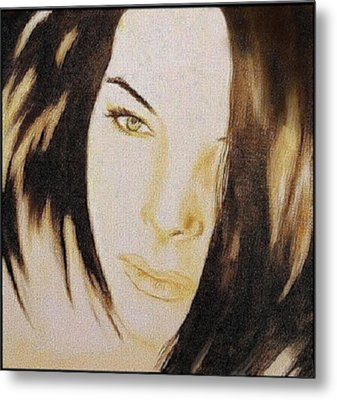 Geneva Girlfriend - Mab Metal Print by Mirko Gallery