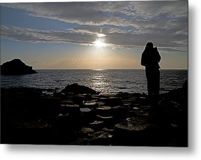 Genius In The Light -- Giant's Causeway -- Ireland Metal Print