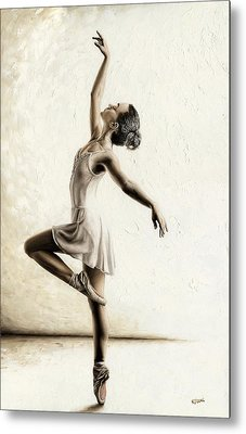 Genteel Dancer Metal Print