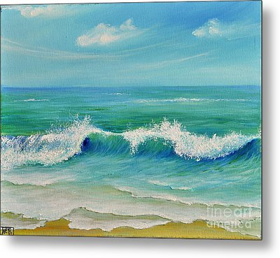 Gentle Breeze Metal Print