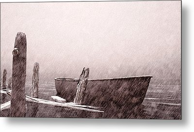 Gentle Current Metal Print by Bob Orsillo