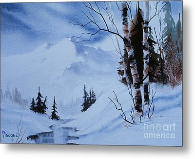 Gentle Mountains Metal Print by Teresa Ascone
