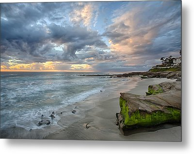 Gentle Sunset Metal Print by Peter Tellone