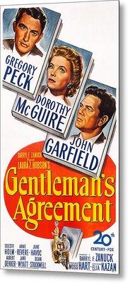 Gentlemans Agreement, Us Poster Metal Print by Everett