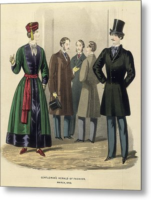 Gentleman's Fashion Metal Print