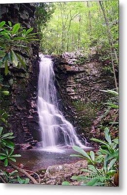Gentry Creek- Upper Falls Metal Print