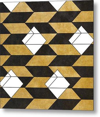 Geo Pattern II Metal Print