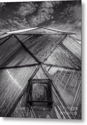 Geodesic Dome Metal Print