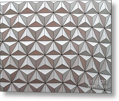 Geodesic Metal Print by Sabrina L Ryan
