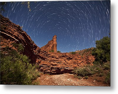 Geology And Space Metal Print by Melany Sarafis