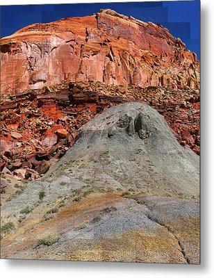 Geology Triptych - One Metal Print