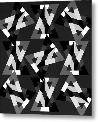 Geometric 12 Metal Print by Mark Ashkenazi