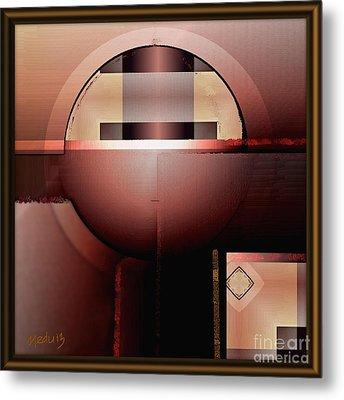 Geometric 191 Metal Print by Nedunseralathan R