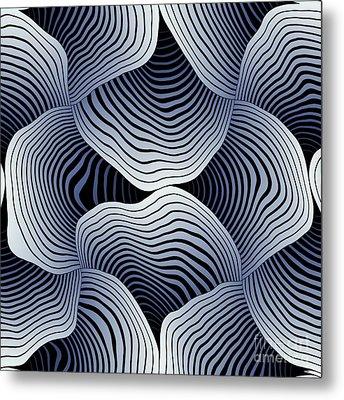 Geometric Gymnastic - S01-02a Metal Print