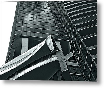 Metal Print featuring the photograph Geometric by Lorenzo Cassina