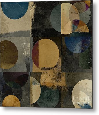 Geomix 01 - 111bt2a Metal Print by Variance Collections