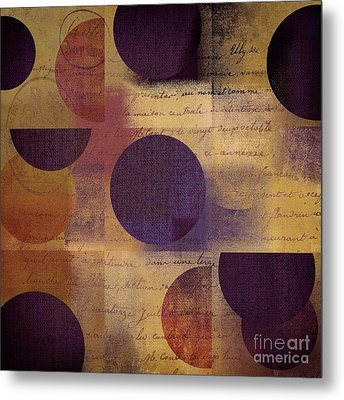 Geomix 01 - 122129082 Metal Print by Variance Collections