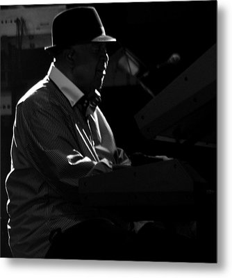George Duke Metal Print by Achmad Bachtiar