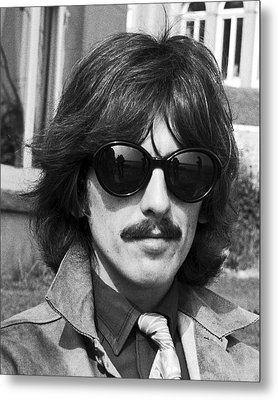 George Harrison Beatles Magical Mystery No.2 Metal Print by Chris Walter