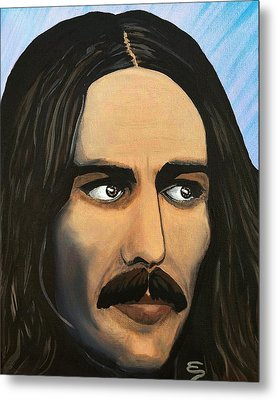 George Harrison The Mystic Metal Print