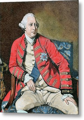 George IIi (london, 1738-windsor, 1820 Metal Print by Prisma Archivo