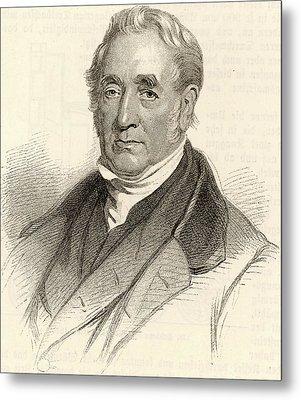 George Stephenson Metal Print by Universal History Archive/uig