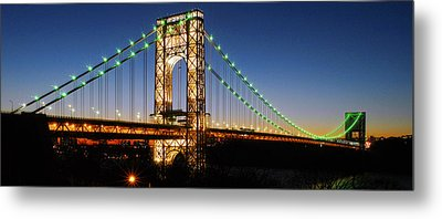 George Washington Bridge Metal Print by Yue Wang