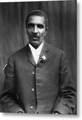 George Washington Carver (c1864-1943) Metal Print by Granger