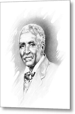 George Washington Carver Metal Print by Gordon Van Dusen