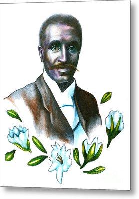 George Washington Carver Metal Print by Gwen Shockey