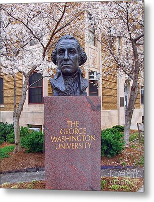 George Washington University Bust 1958 Metal Print