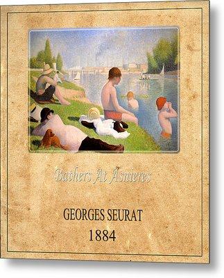 Georges Seurat 1 Metal Print by Andrew Fare