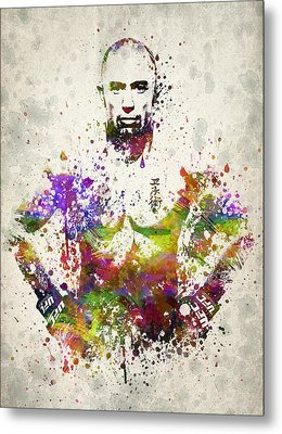 Georges St-pierre Metal Print